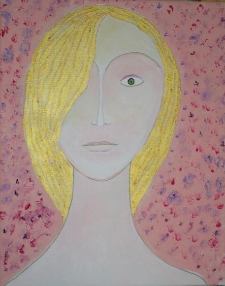 Femme à l'oeil vert
