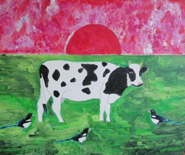 Crépuscule pour la vache sacrée