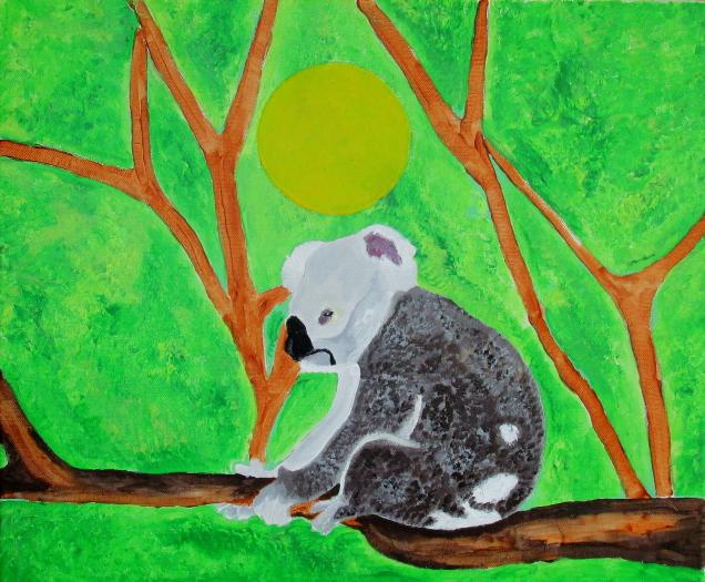 Le koala triste