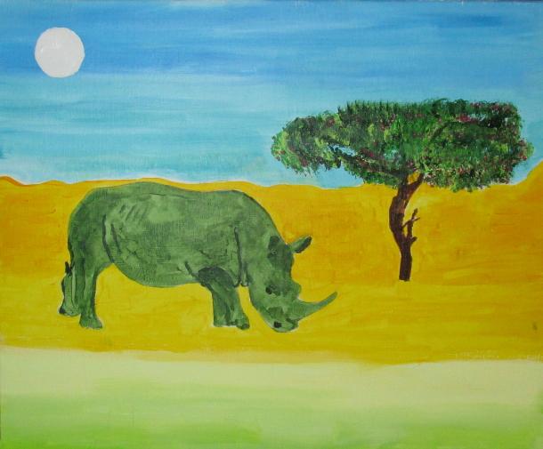 Le rhinocéros solitaire